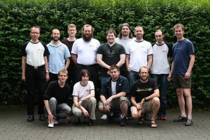 Rockbox Team Devcon in Ghent Belgium 2009