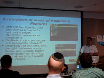 Rockbox at NYLUG presentation video