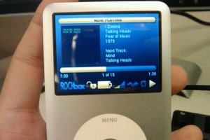 Rockbox on the iPod Classic
