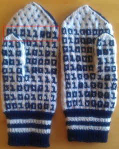 Binary mittens