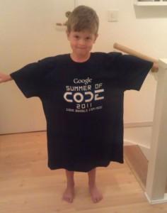 The GSOC 2011 shirt