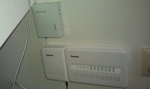 Inteno fiber equipment