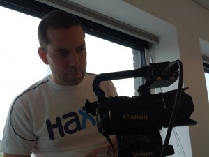 Björn the cameraman