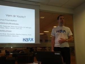 bjorn talks on yocto