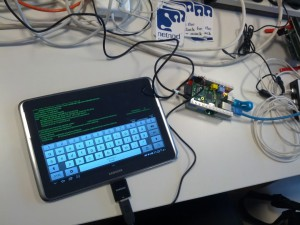 rpi accessed with tablet
