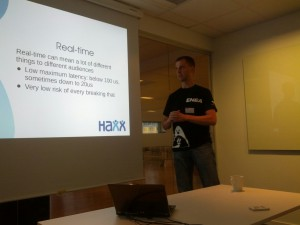 Daniel Stenberg talks Real-time Linux