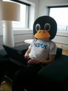 Björn Stenberg, a penguin