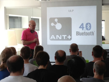 Mats talks bluetooth