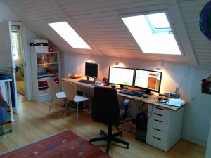 Daniel's home office