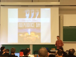 Daniel talks curl at FOSDEM