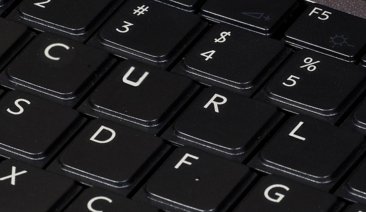 CURL keyboard