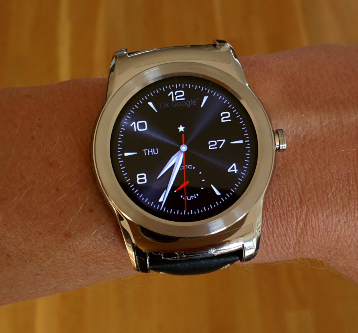 my LG watch urbane