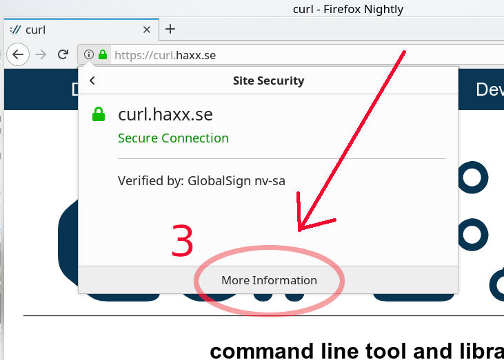 Get the CA cert for curl | daniel haxx se